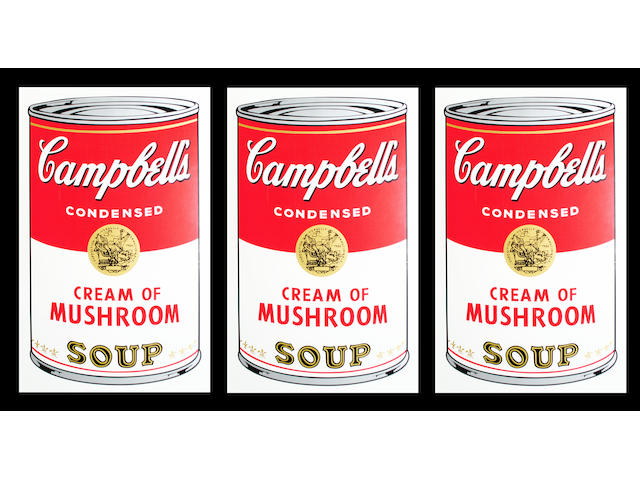After Andy Warhol 'Campbell's Soup',