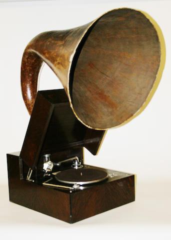 An EMG Mark 9 gramophone