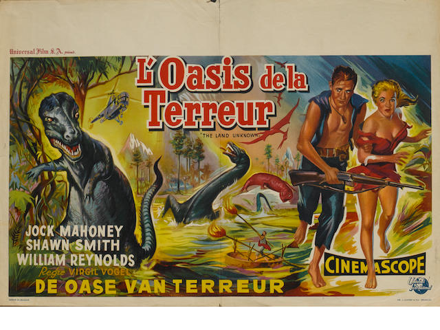 A collection of ten Belgian Horror and Science Fiction related film posters, including,