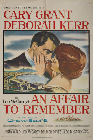 An Affair To Remember, Twentieth Century Fox, 1957,