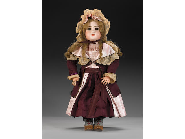 Bebe Mothereau bisque head doll, circa 1885