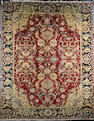 An Agra design carpet 500cm x 400cm