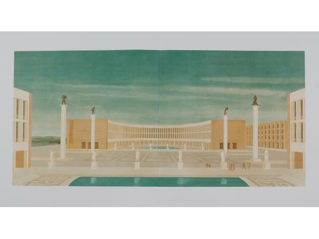 EXHIBITIONS, ROME Esposizione universale di Roma MCMXLII.XX.E.F.
