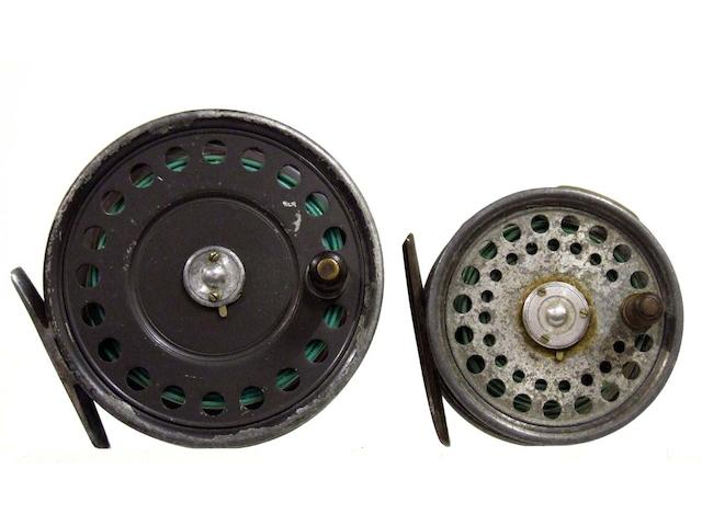 A Hardy alloy silent check 'St. George' trout fly reel 3in