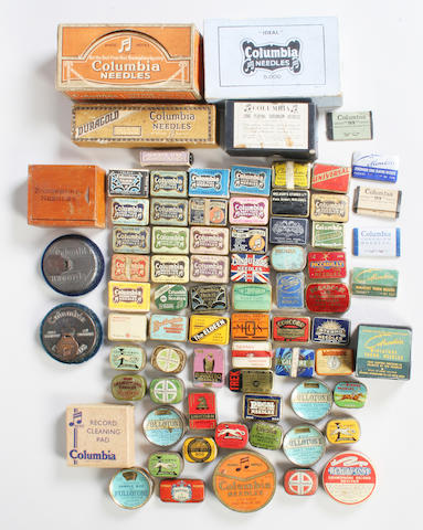 Needle tins and accessories mainly British