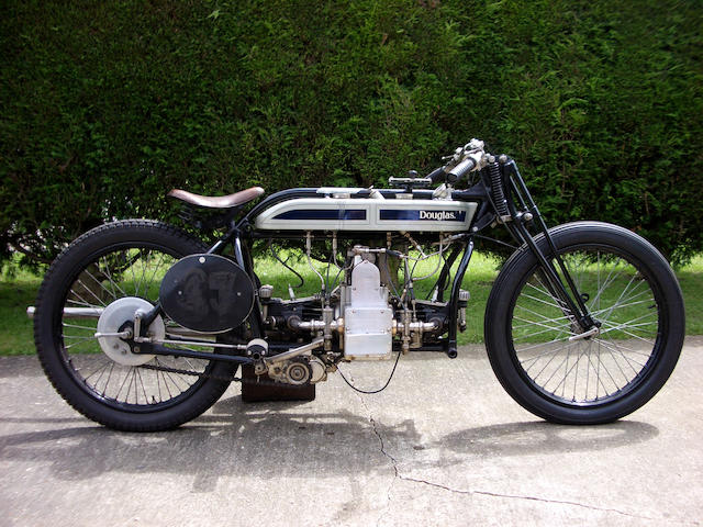 1922/23 Douglas 3 ½hp 494cc Sports Model S1 'Brooklands' Racer  Engine no. IOM AE 656