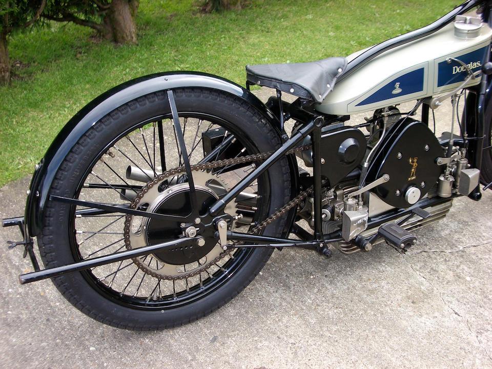 The 1928 Freddie Dixon 348cc TT Douglas Twin Cam  Engine no. DD 1