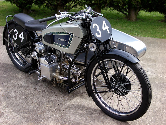 1932 Douglas Sidecar Outfit,