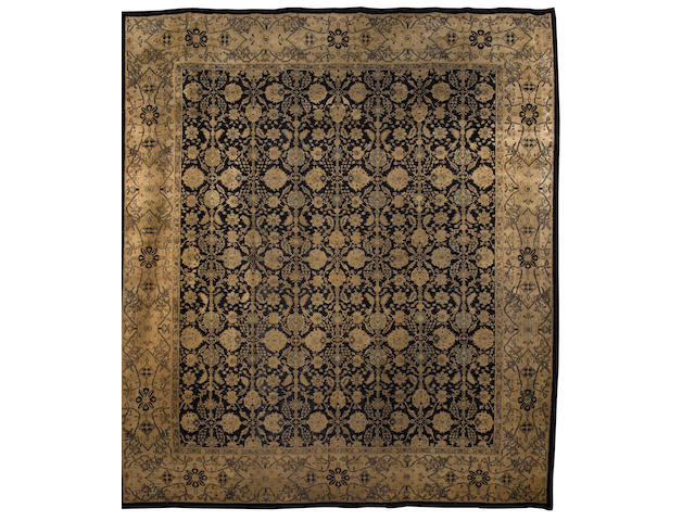An Agra carpet North India, 15 ft 7 in x 13 ft 10 in (476 x 422 cm)