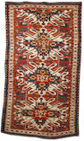 A Chelaberd rug South Caucasus, 8 ft 3 in x 4 ft 7 in (252 x 140 cm) one small repair in border otherwise in very good condition
