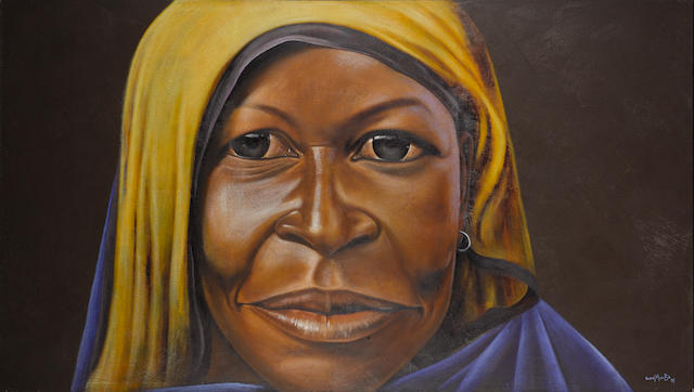 Velaphi Mzimba (South African, born after 1959-) Tsonga 170 x 304 cm.