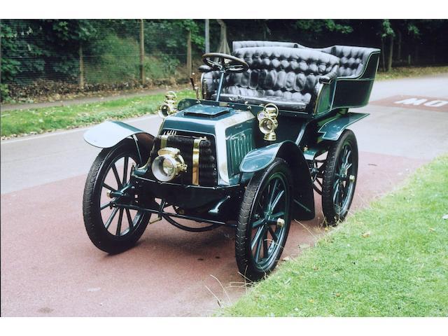 1903 Panhard-Levassor Type A 7hp Twin-cylinder Rear-entrance Tonneau  Engine no. 5887