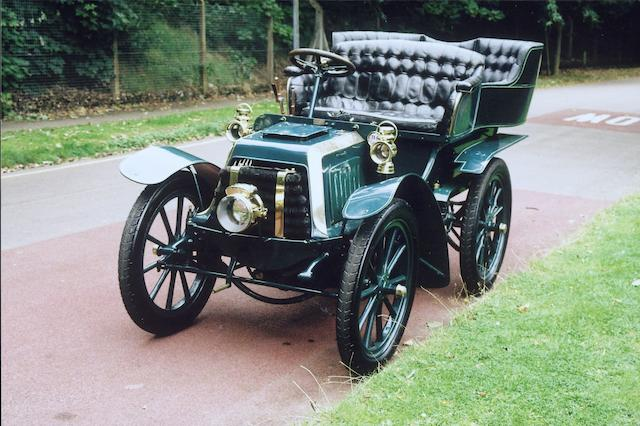1903 Panhard-Levassor Type A 7hp Twin-cylinder Rear-entrance Tonneau  Engine no. 5887