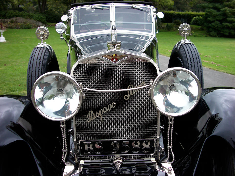 1924 Hispano-Suiza H6B 37.2hp 6.6-litre Coupé de Ville  Chassis no. 10960 Engine no. 300107