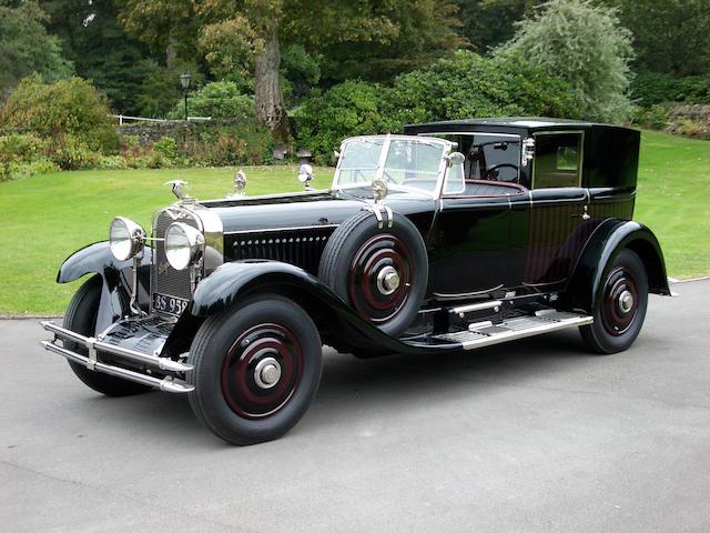 1924 Hispano-Suiza H6B 37.2hp 6.6-litre Coupé de Ville  Chassis no. 10960 Engine no. 300107