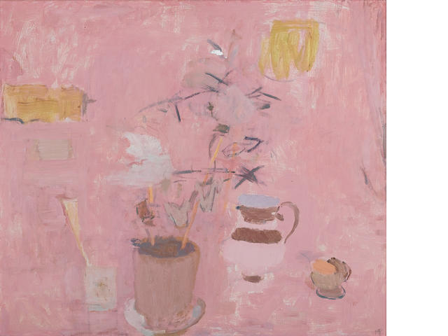 Mary Potter (British, 1900-1981) Still Life 1968 66 x 76.2 cm. (26 x 30 in.)