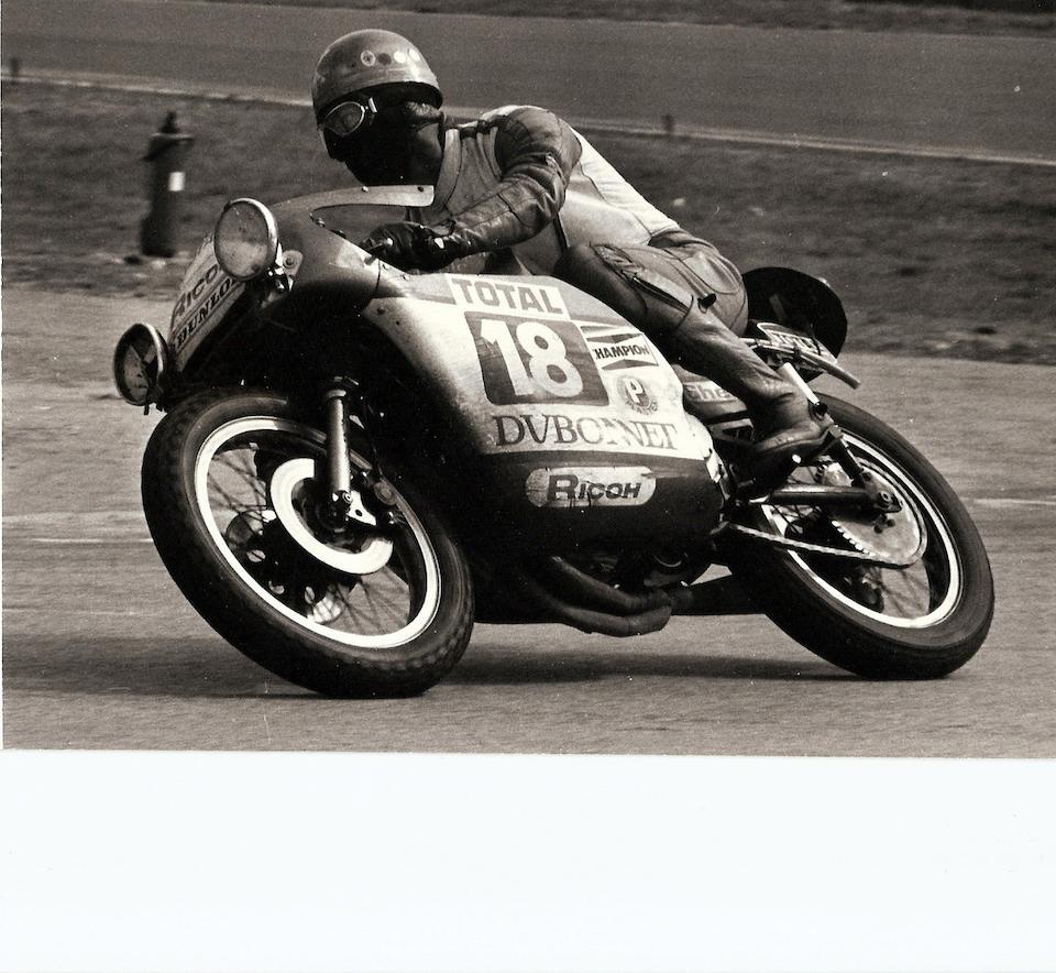 The 'Robertson Triumph Triple',1972 BSA 750cc Rocket III Racing Motorcycle  Frame no. HR 3552 Engine no. HD 00336 A75R