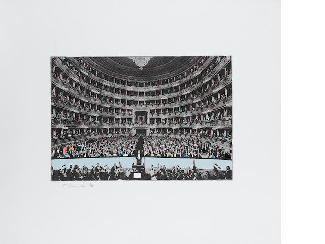 Richard Hamilton (British, born 1922) La Scala Milano Photo-etching and screenprint from 8 stencils,