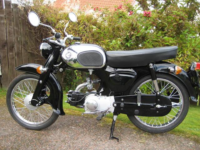 1965 Honda 90cc C200 Frame no. C200 164999 Engine no. C200E 110996