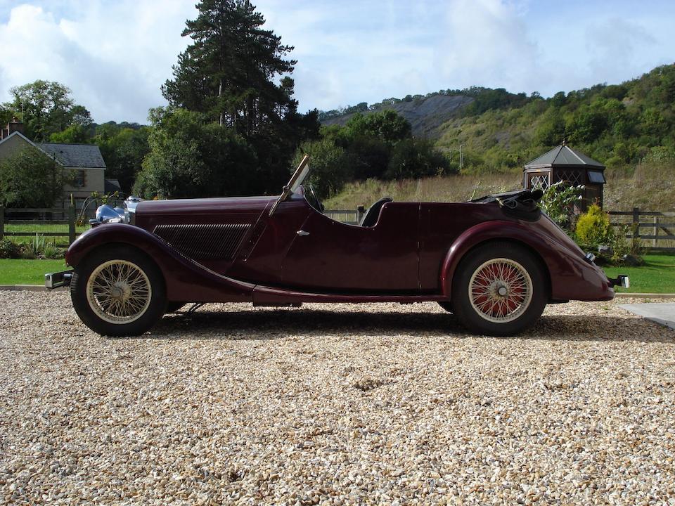 1937 Talbot 105 Tourer  Chassis no. 4094 Engine no. 105B 194