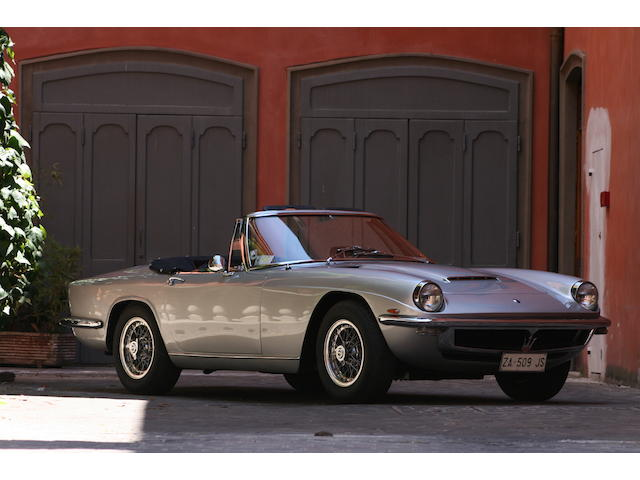 1969, Maserati Mistral Spider,