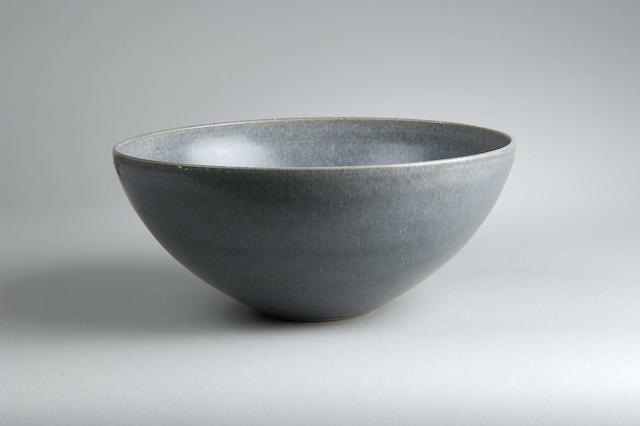Alan Spencer Green a large Bowl Diameter 27.7cm (10 7/8in)