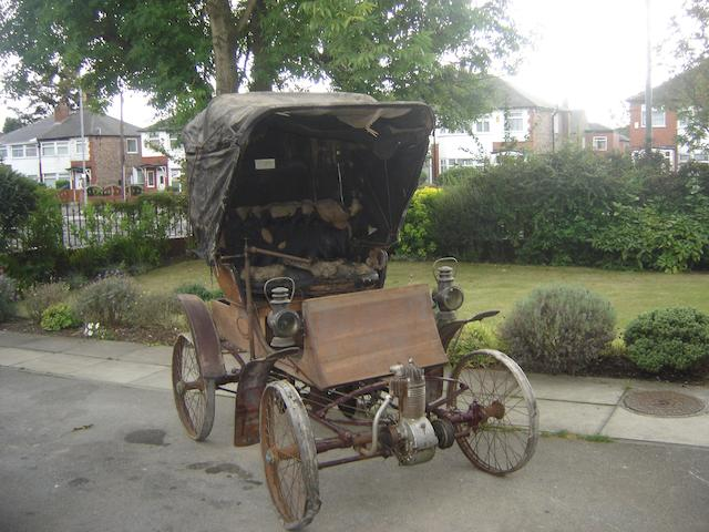 c.1901 Crestmobile Model B 3½hp Runabout  Engine no. 335