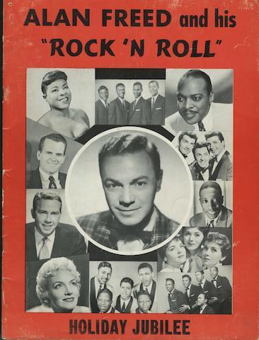 Four original 1950s' music programmes,