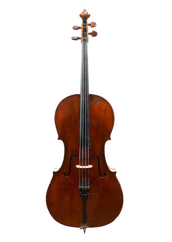 A French Violoncello of quality, Guersan School circa 1780