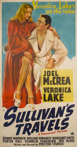 Sullivans Travels US Three Sheeet Poster