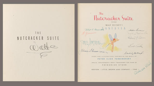 A signed edition of 'The Nutcracker Suite',