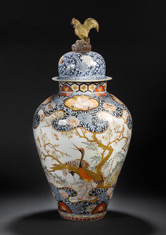 An Imari jar and cover Late 17th/early 18th century