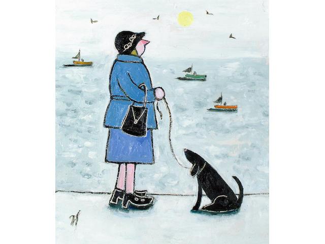 Joan Gilchrest (British, born 1918) 'I hate waiting'