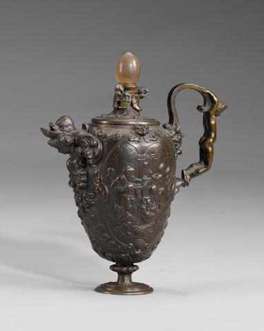 A 19th century Berlin iron vase