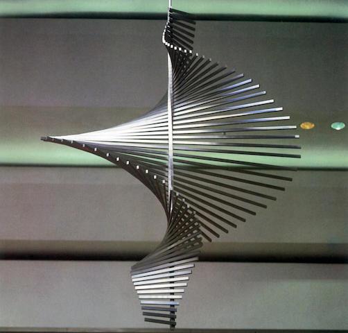 Kenneth Martin (British, 1905-1984) Screw Mobile 4m x 2m x 45rpm