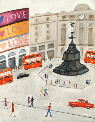 Robert Hardy (British, born 1952) Picadilly Circus