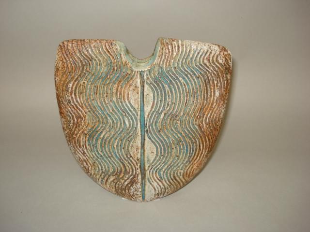 Alan Wallwork a 'U' formed Vase Height 21cm (8 1/4in.)