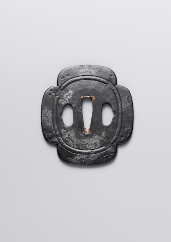 Two Higo School tsuba Edo Period, 18th century