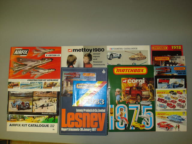 Matchbox and other catalogues Quantity