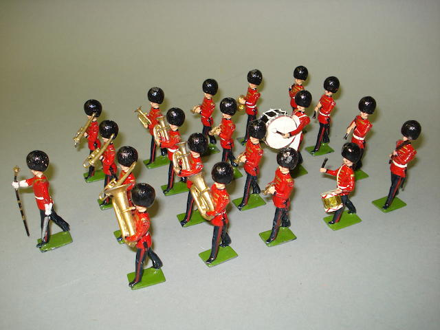 Britains set 37, Band of the Coldstream Guards 21
