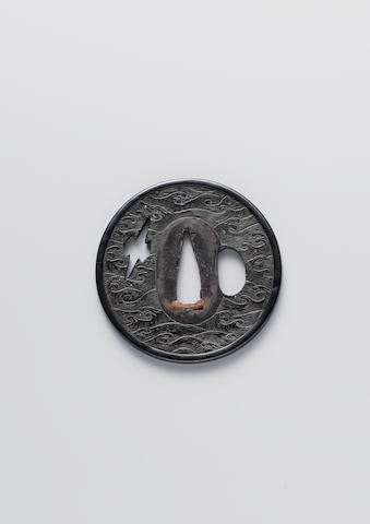 Two ko-kinko tsuba Muromachi Period (16th century)