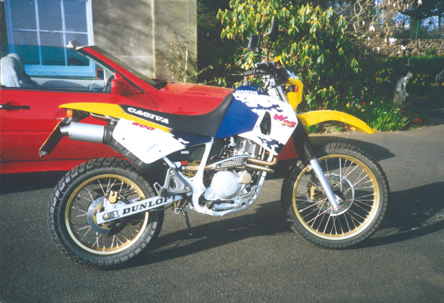 One owner, 1,500 miles from new,1995 Cagiva W16 600  Frame no. 000587 Engine no. 94000490