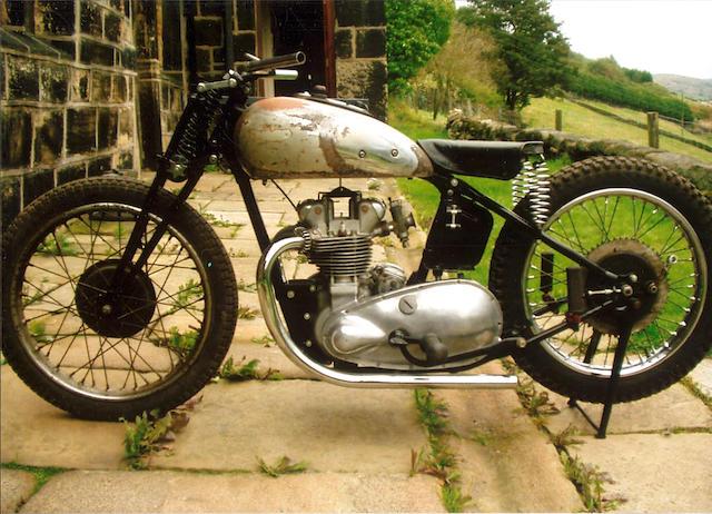 1939/40 Triumph 350cc 3TW  Frame no. TL33302