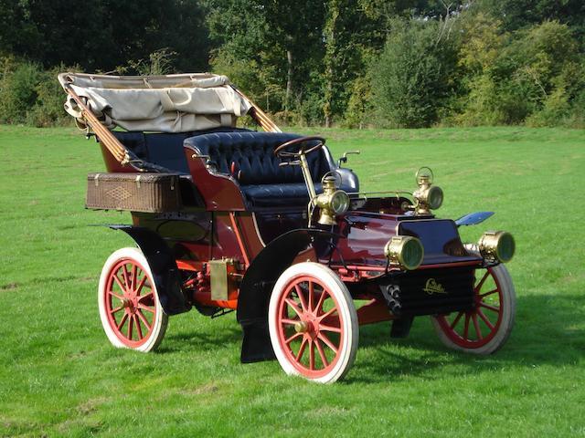 1904 Cadillac 10hp Model B Rear Entrance Tonneau  Chassis no. 894 Engine no. 4994
