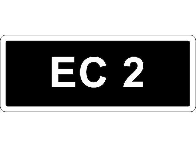 Registration no. 'EC 2',