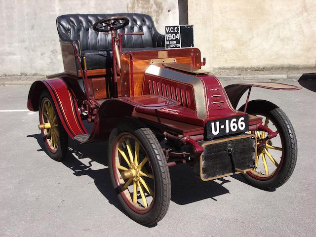 1904 De Dion Bouton Type V 8hp Two-seater  Chassis no. 865 Engine no. 16585