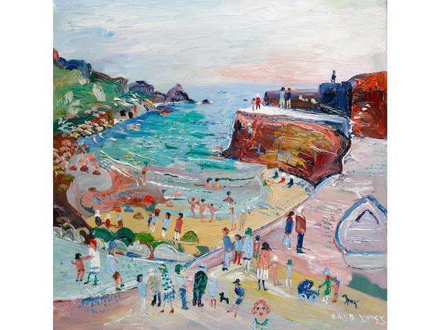 Fred Yates (British, born 1922) Lamorna Cove