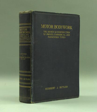 Herbert Butler: Motor Bodywork;