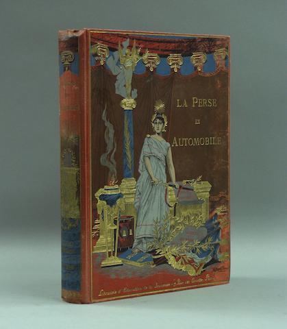 Claude Anet: La Perse en Automobile; 1906,