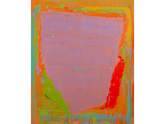 John Hoyland R.A. (British, born 1934) Untitled 101.5 x 122 cm. (40 x 48 in.)